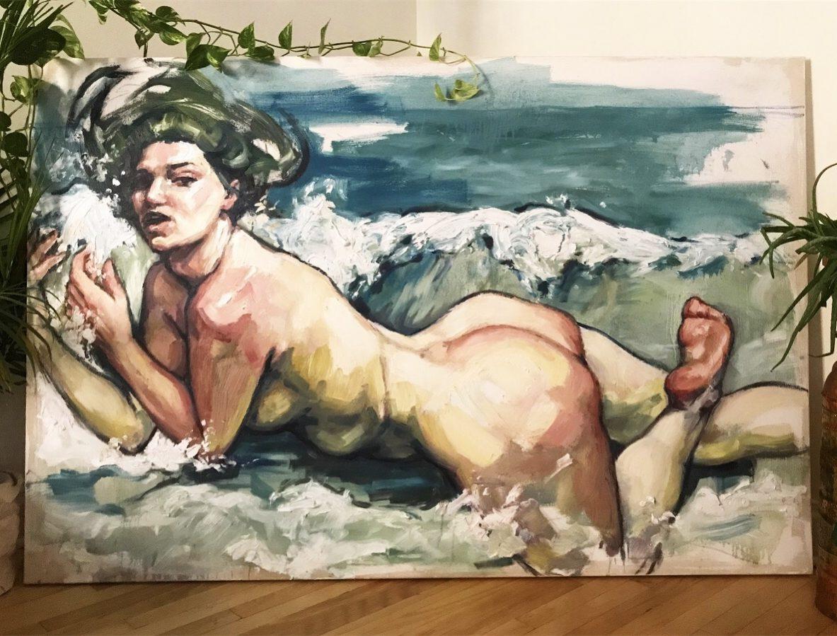 Elly Smallwood Birth of Venus