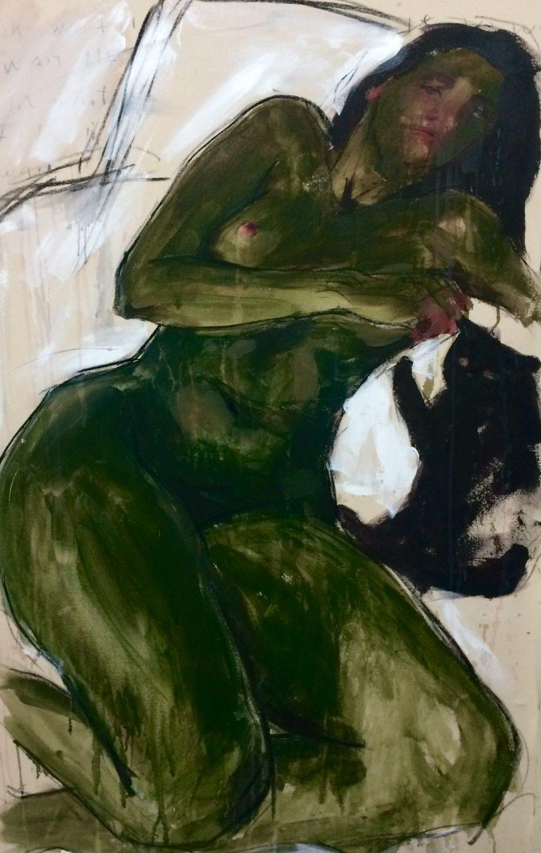 Elly Smallwood Figure in Green