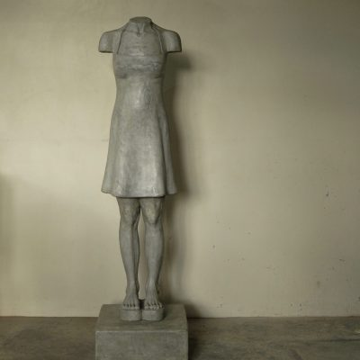Marieke Prinsloo Rowe I have called you by name, 30 Editions in Cement, 160cm high